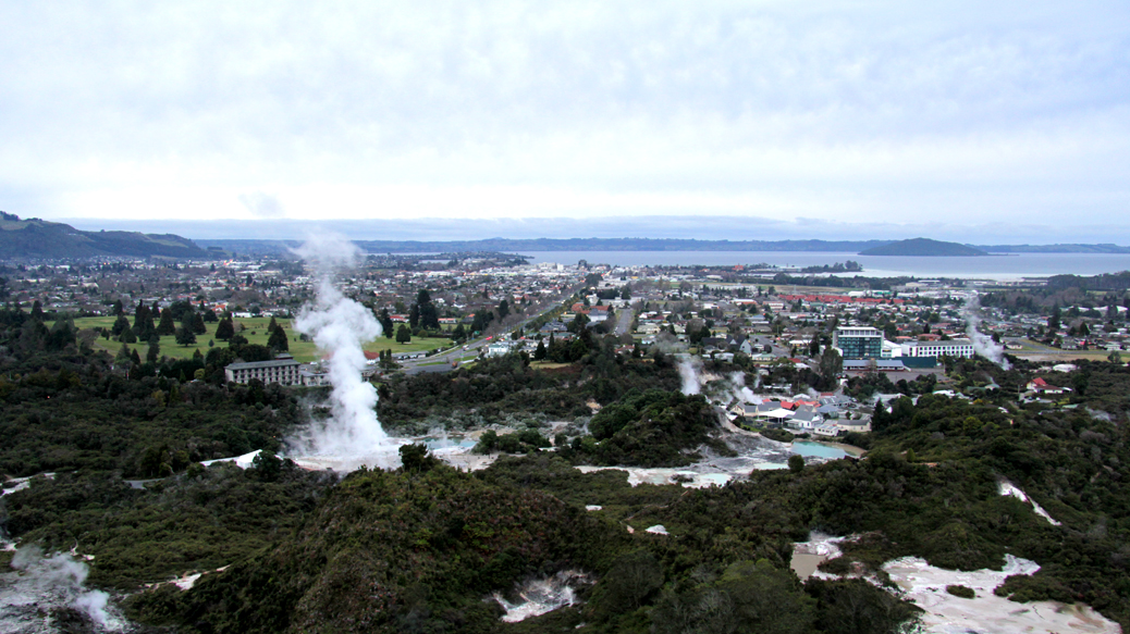 Rotorua – The Smelly Town