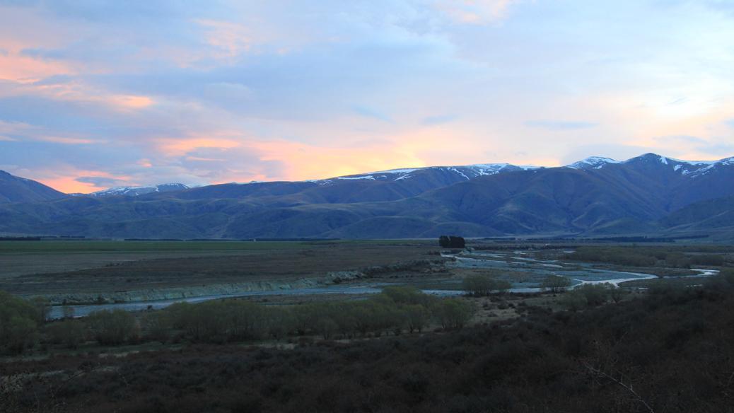 Ahuriri River bei Omarama