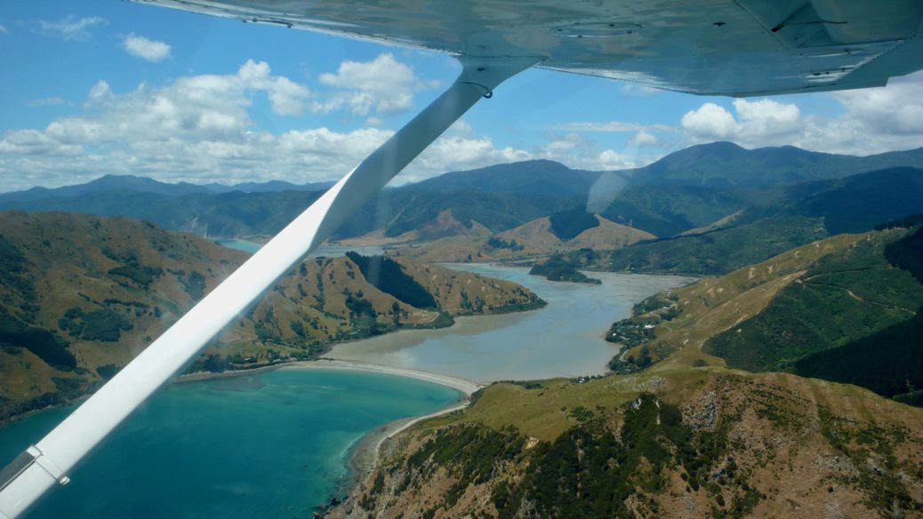 Scenic Flight – Marlborough Sounds