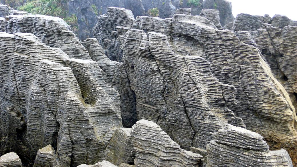 Wet Westcoast  &  Punakaiki Pancake Rocks
