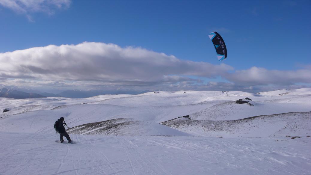 Snowfarm Snowkiten