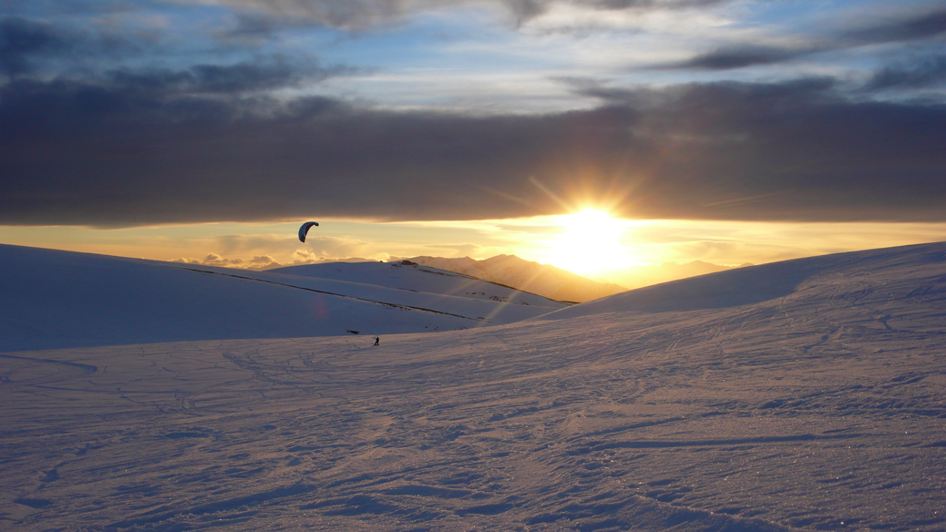 Snowkite Expedition