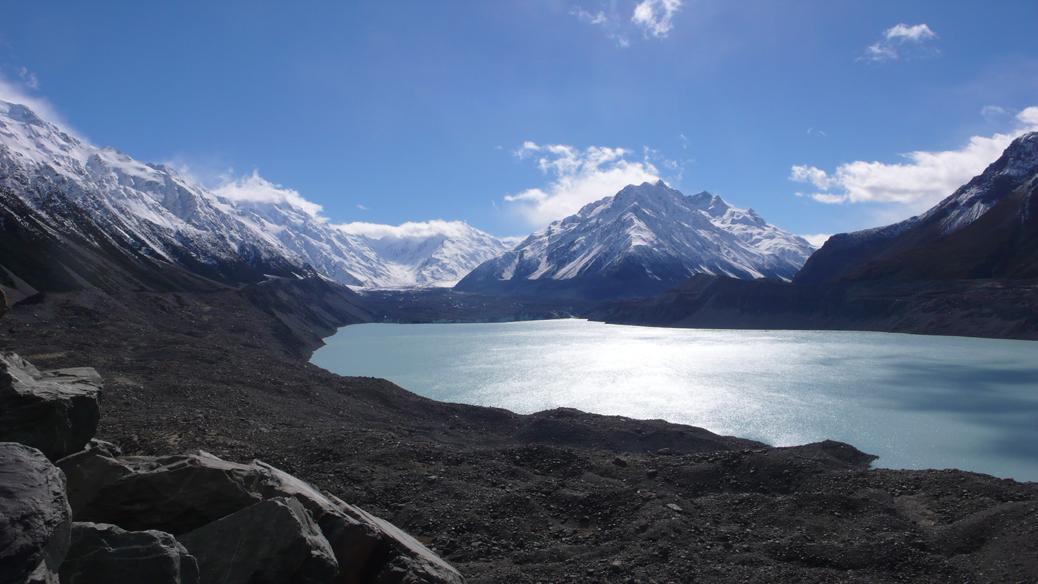 Mt.Cook – Tasman Glacier
