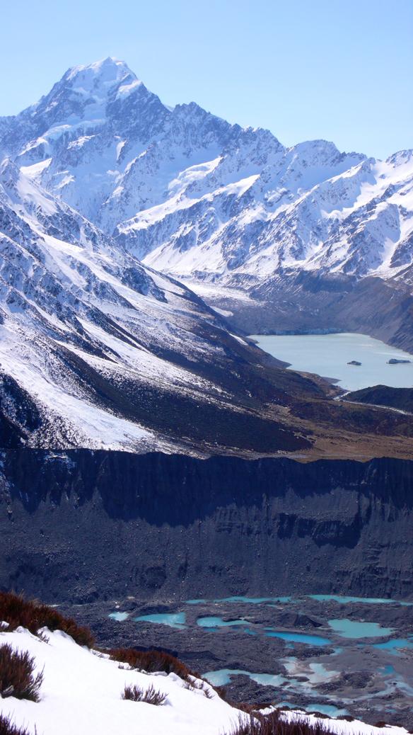Mt Cook und Hooker Valley
