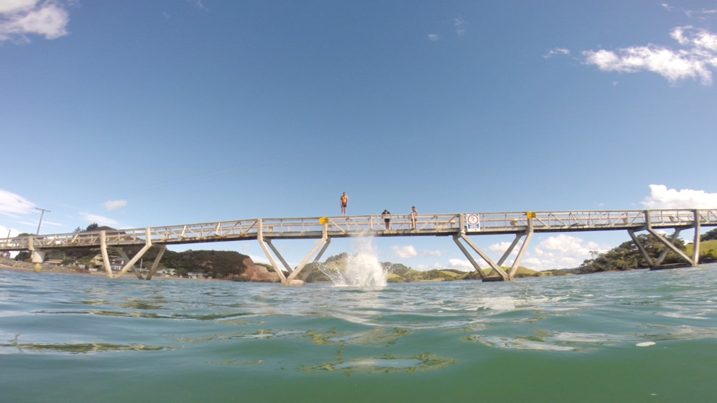 Pataua Bridge Jump