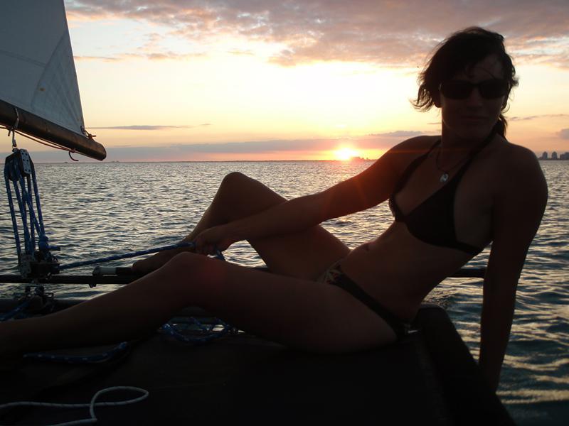 Hobie 16 sailing