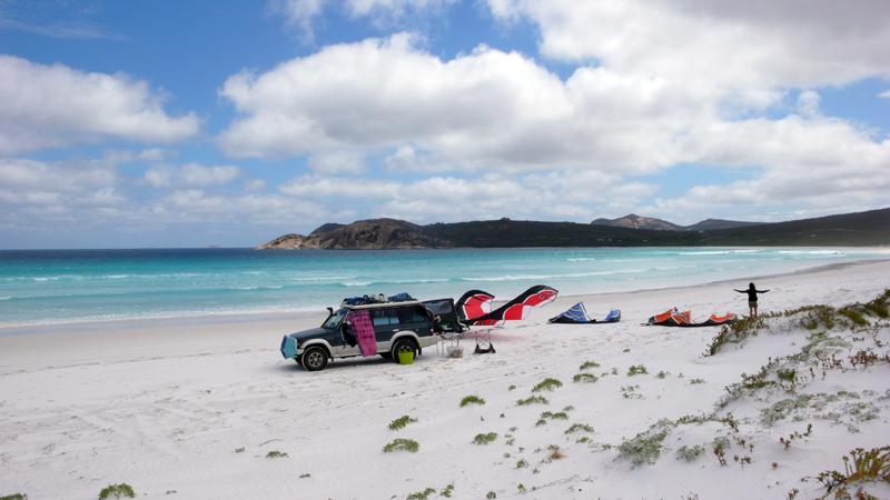 Kitesurfen Lucky Bay