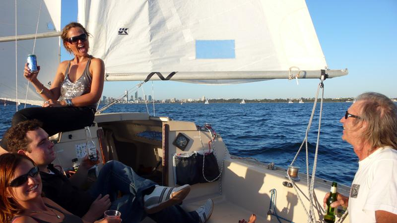 Twilight Sailing auf\'m Swan River