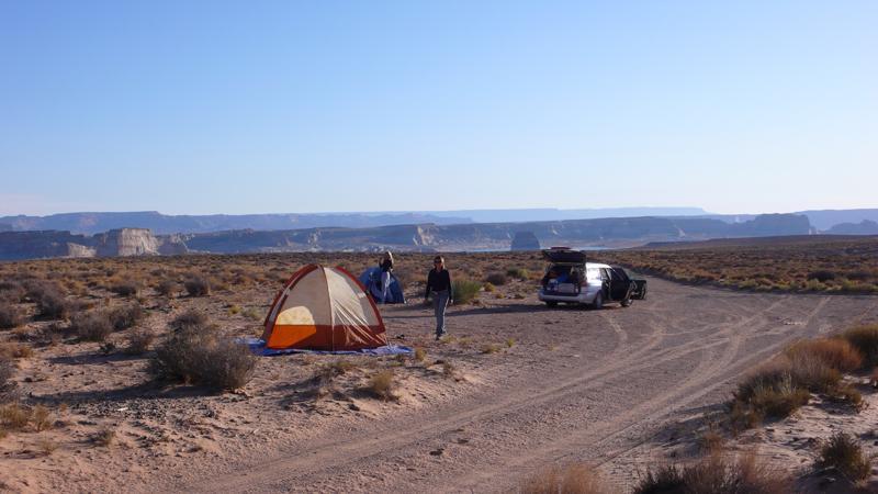 Camping - Lake Powell