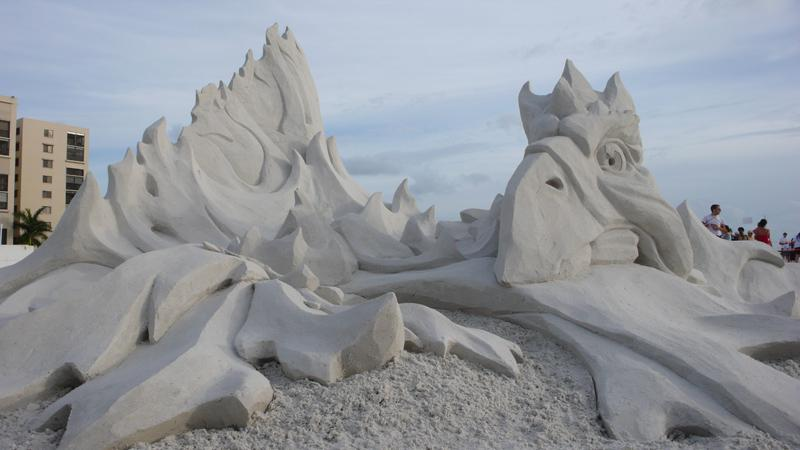 The Phoenix - Sand Sculpure Festival
