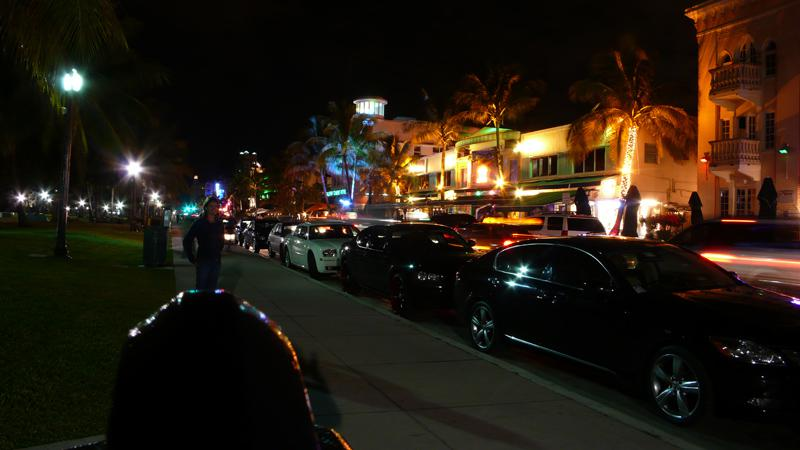 Miami Beach @ night