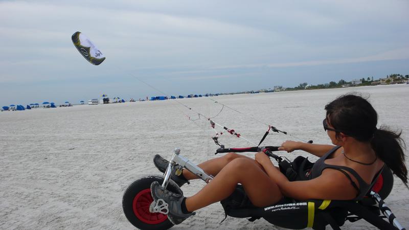 Buggy Kiten mit meinem neuen Kite :-)